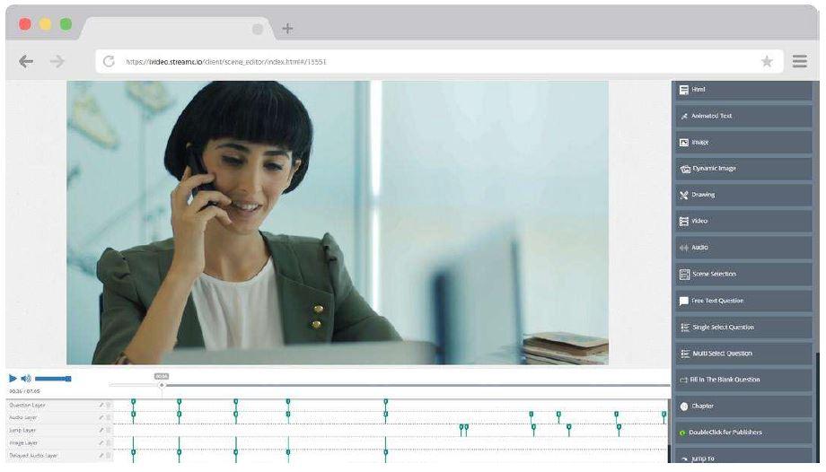 interaktif video platformu